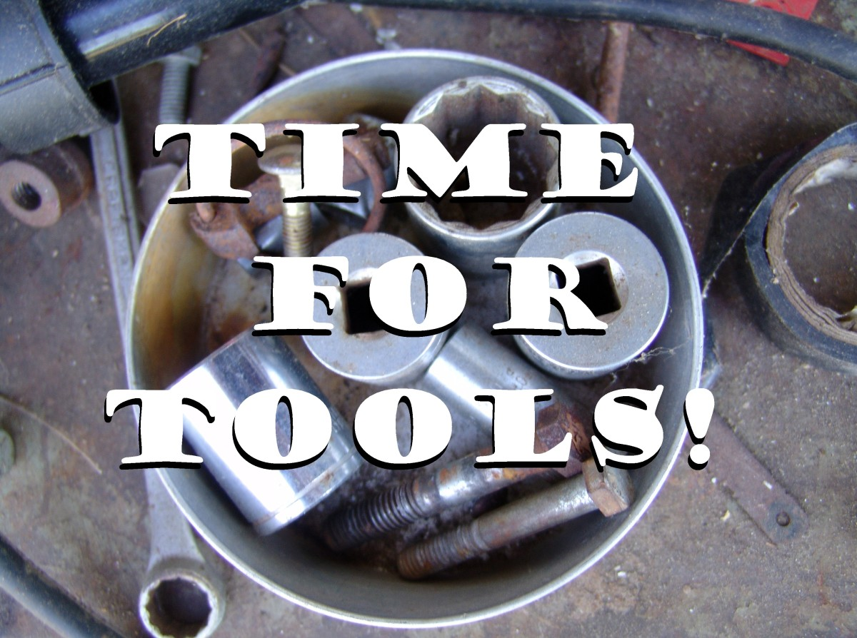 That means it's time to dig out your tools!