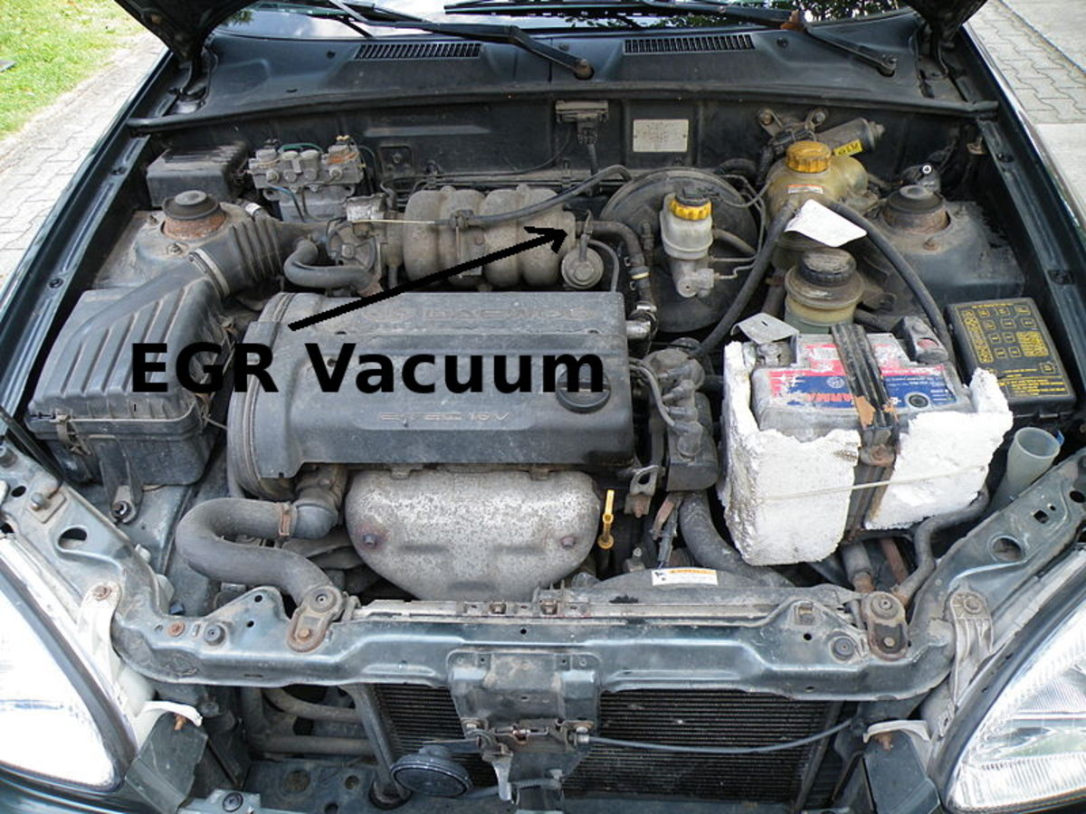 Check sensor vacuum hoses for leaks like the EGR valve.