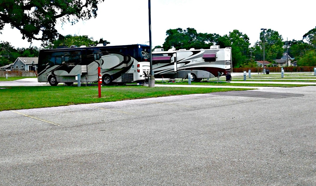 Living in an RV Park has many benefits.