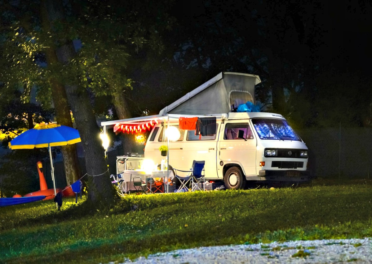 Many people camp as they go and supplement their incomes with volunteer or work camping positions.