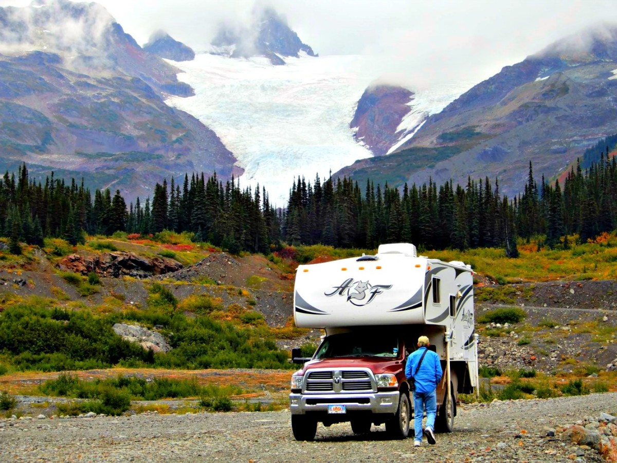 In RV parks that only allow motor homes, this truck camper would not be permitted to rent a site.