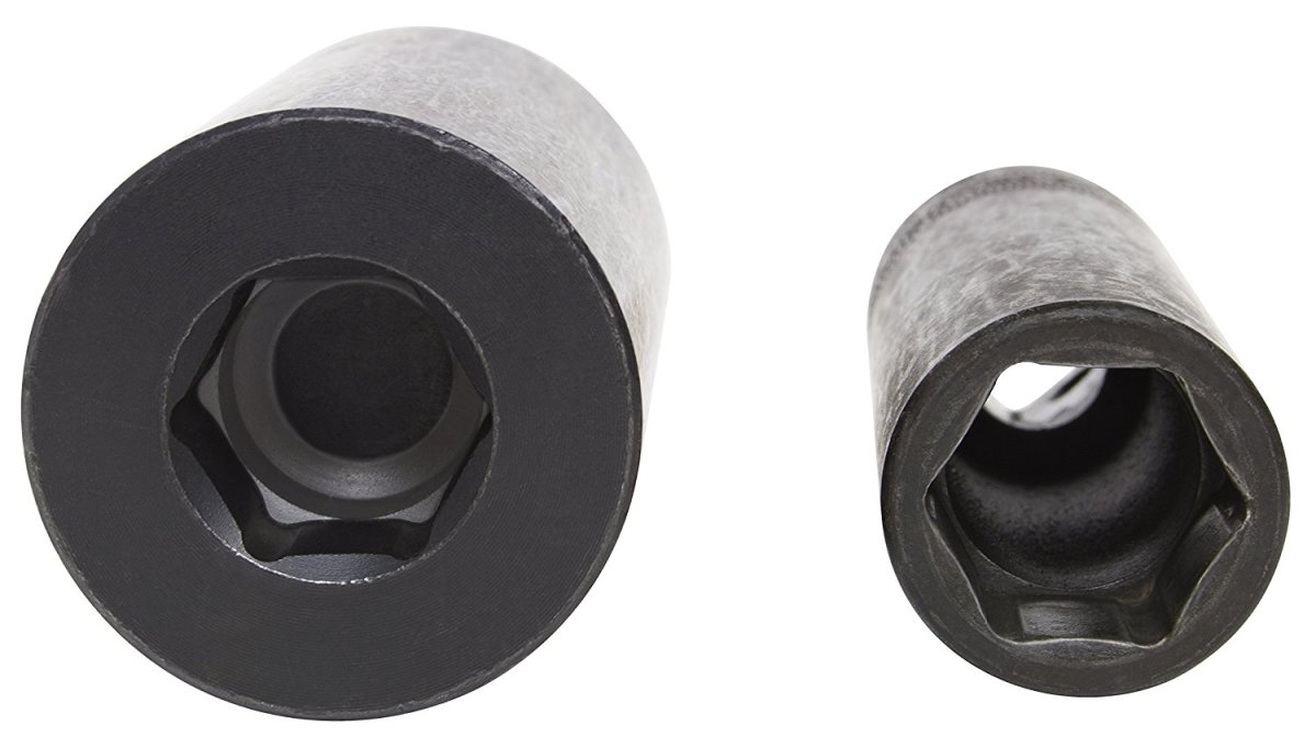 Honda 19 mm Harmonic Balancer Bolt Impact Socket vs Standard 19 mm Impact Socket