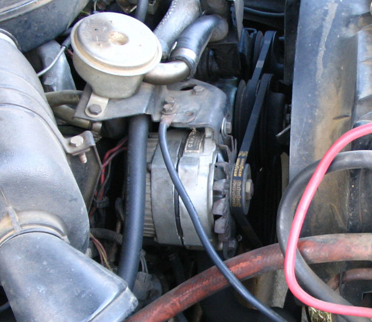 A worn-out timing belt can cause engine performance issues.
