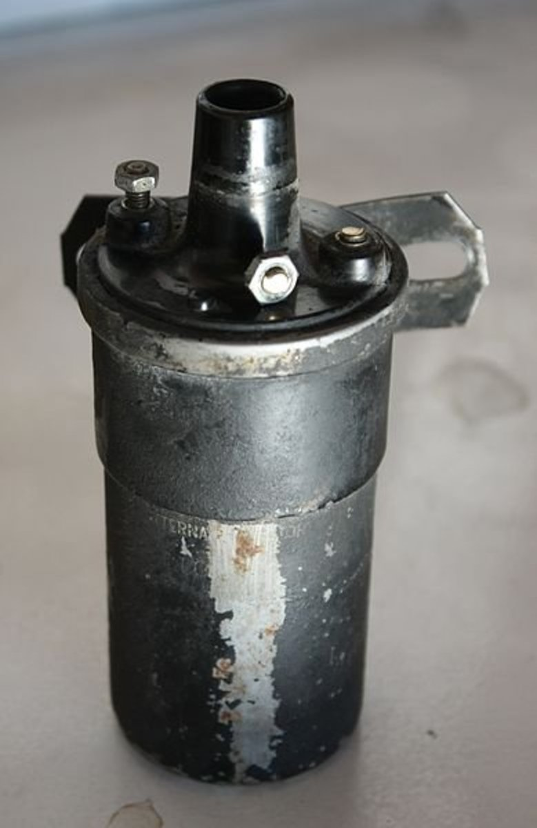 When checking the ignition system, test the ignition coil, if necessary.
