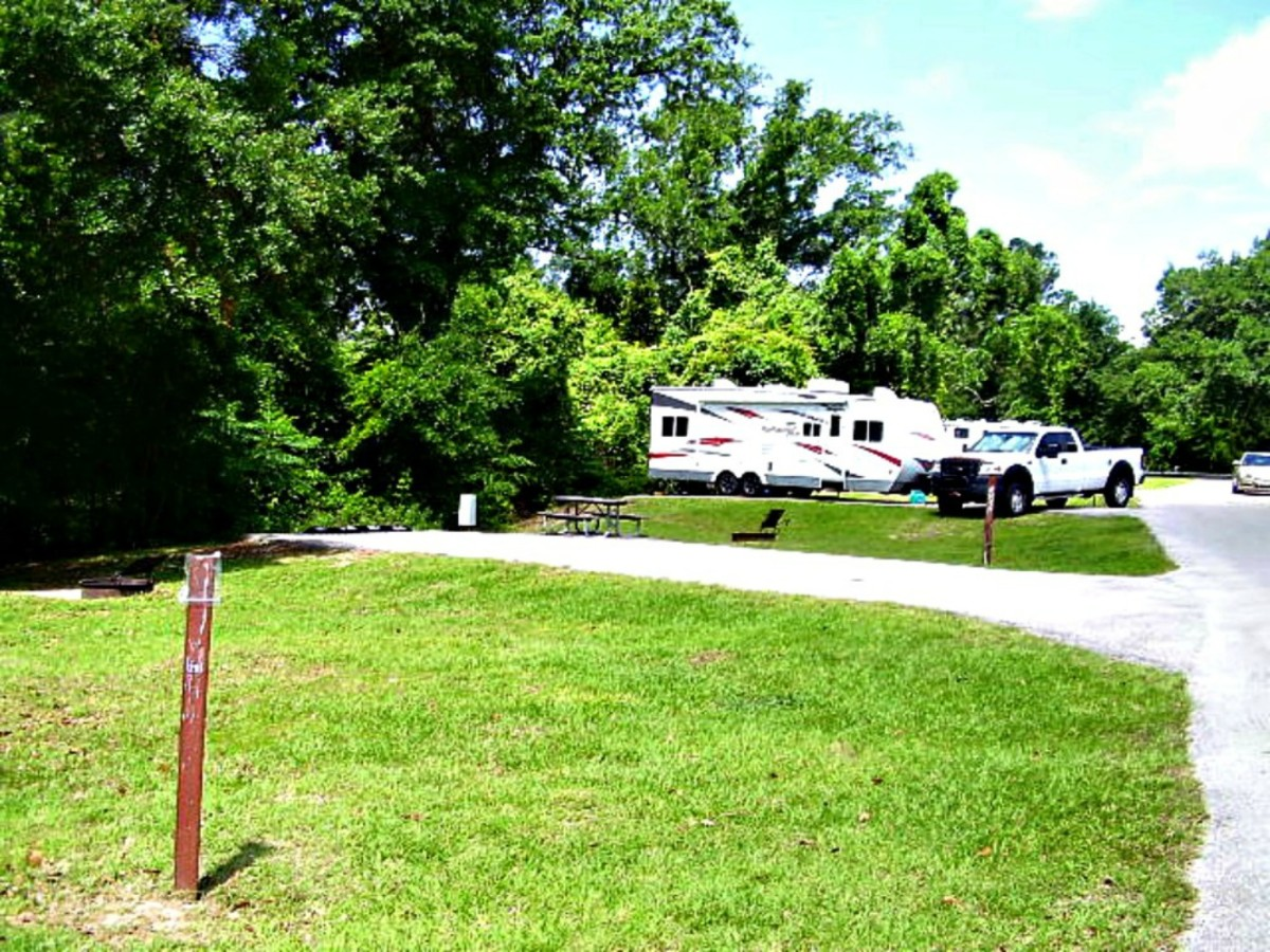 Staying at a campground gives people access to water, sewer, electric and other amenities that you cannot get when dry camping.