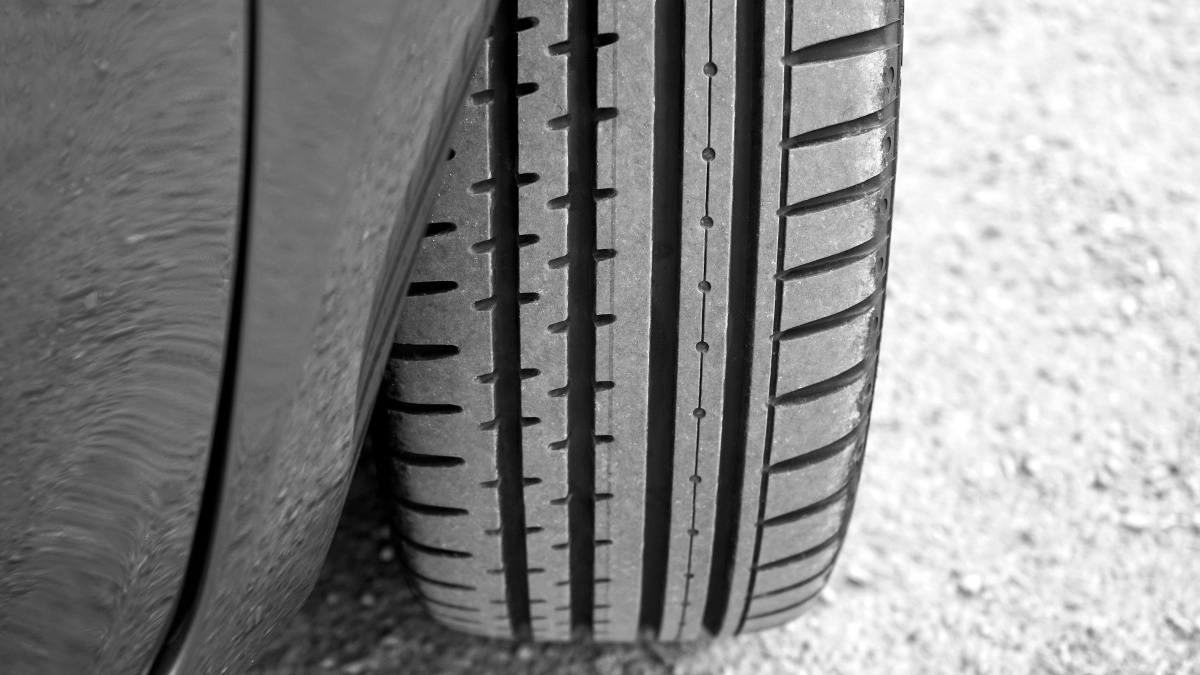 Car tire treads should be the recommended legal depth.