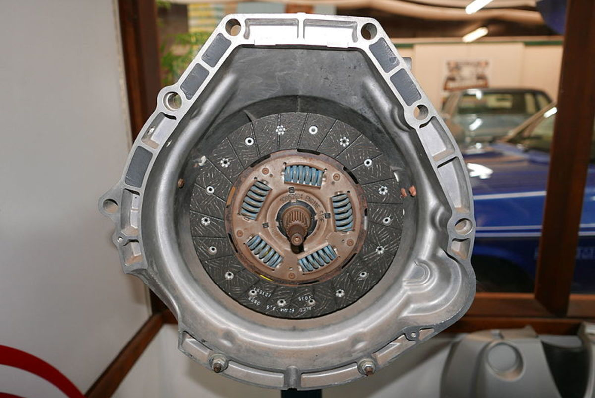 Noises from the clutch assembly noises may be confused with noises from the transmission.