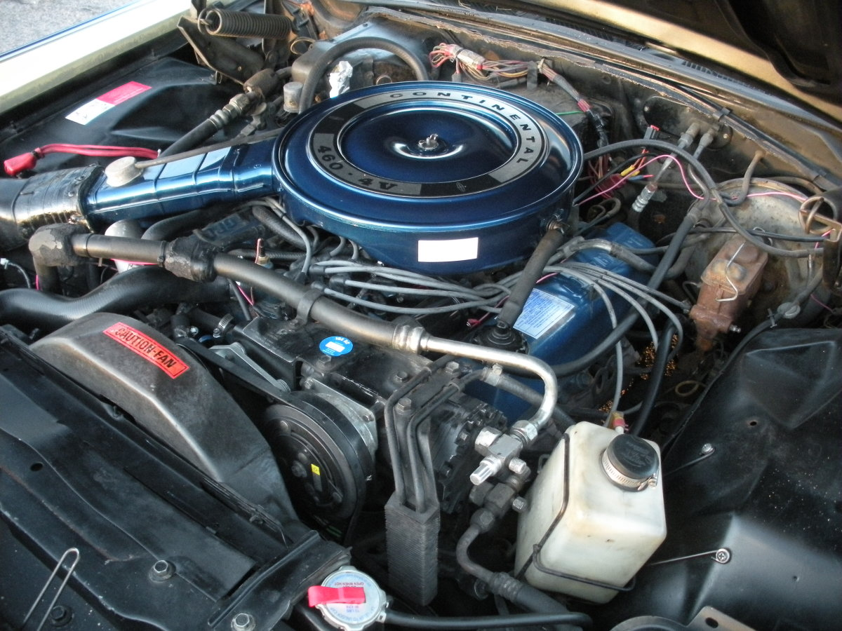 Check for a clogged air filter or a leak in the air cleaner assembly.