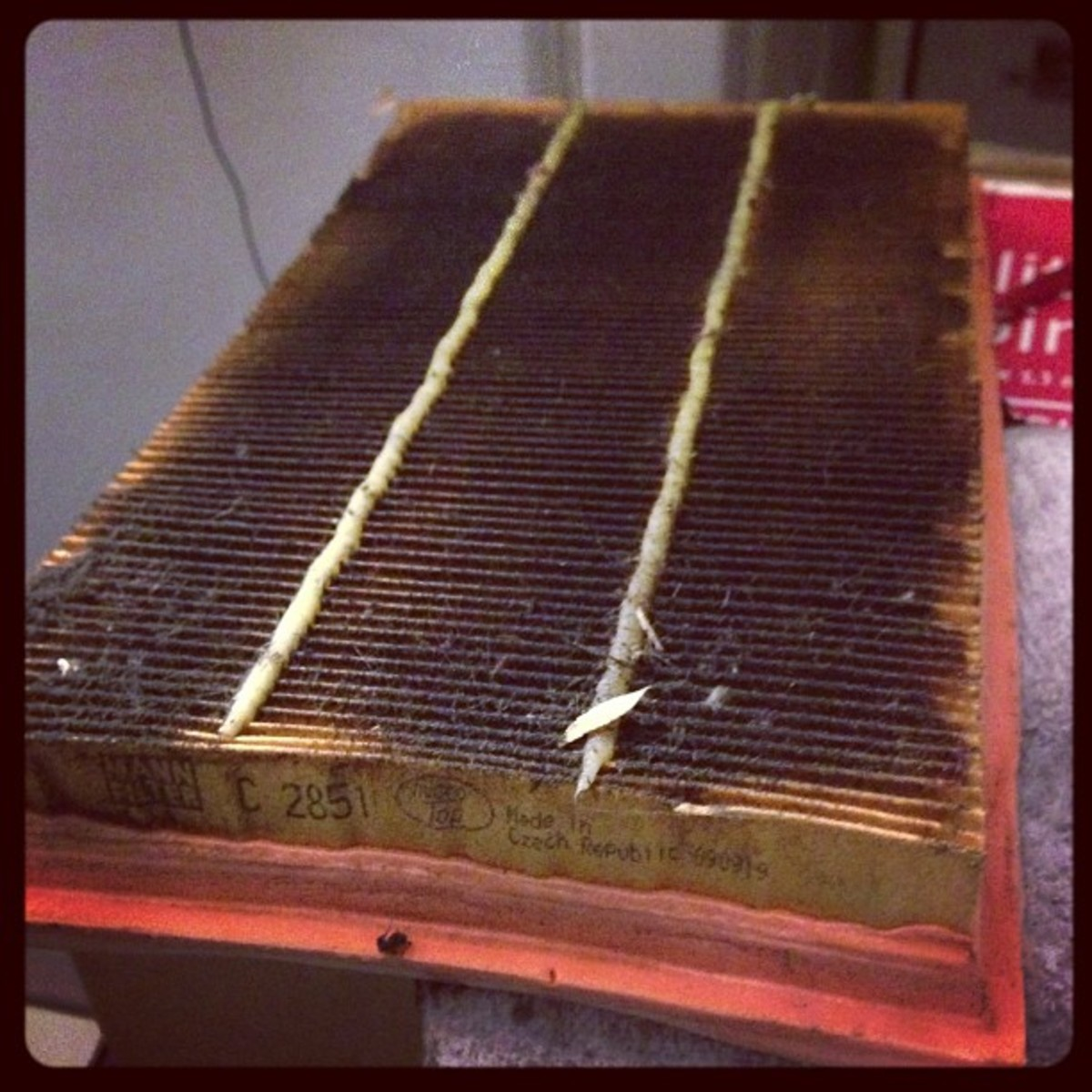 Even a dirty air filter can cause the MAF sensor to send a faulty signal.