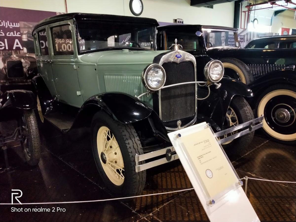 Ford Model A 4 door sedan