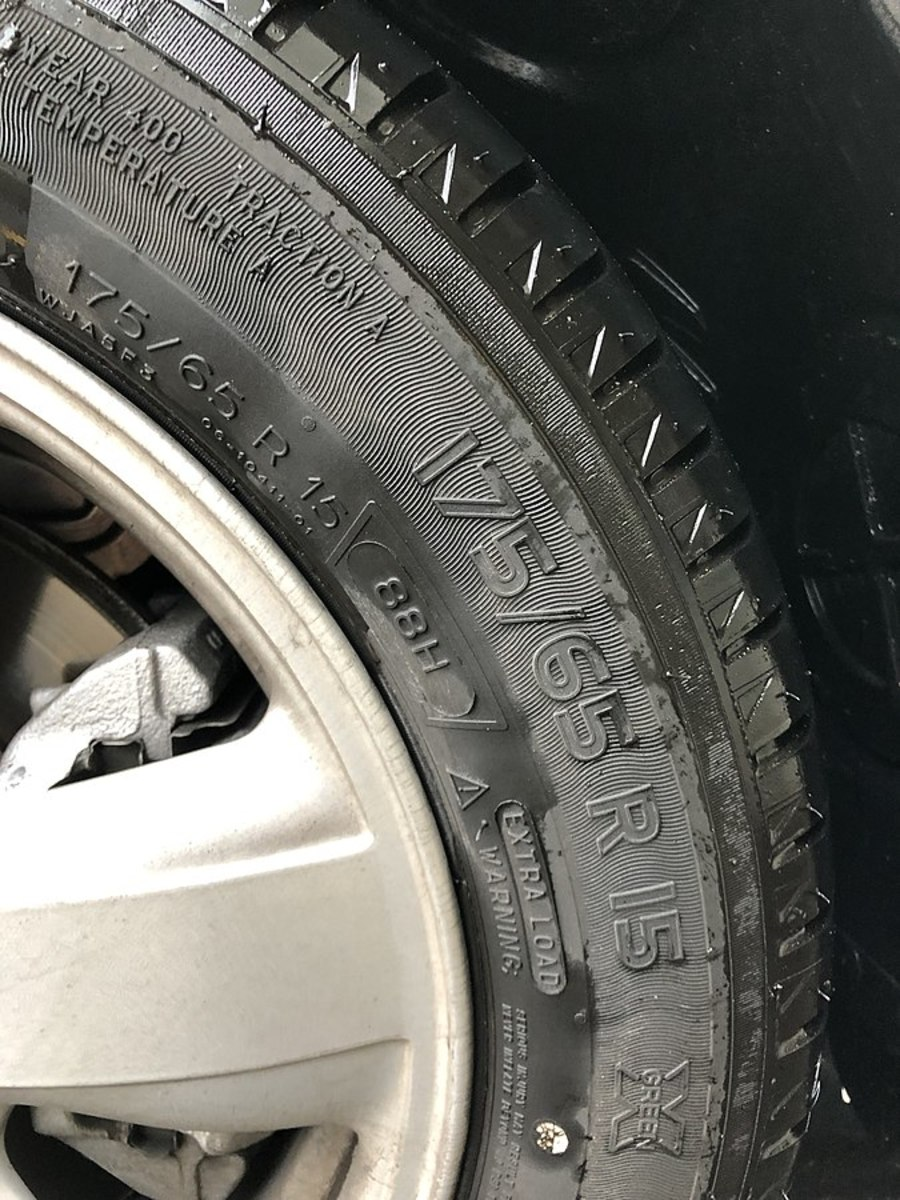 Closely check your car tires for underinflation and damage.