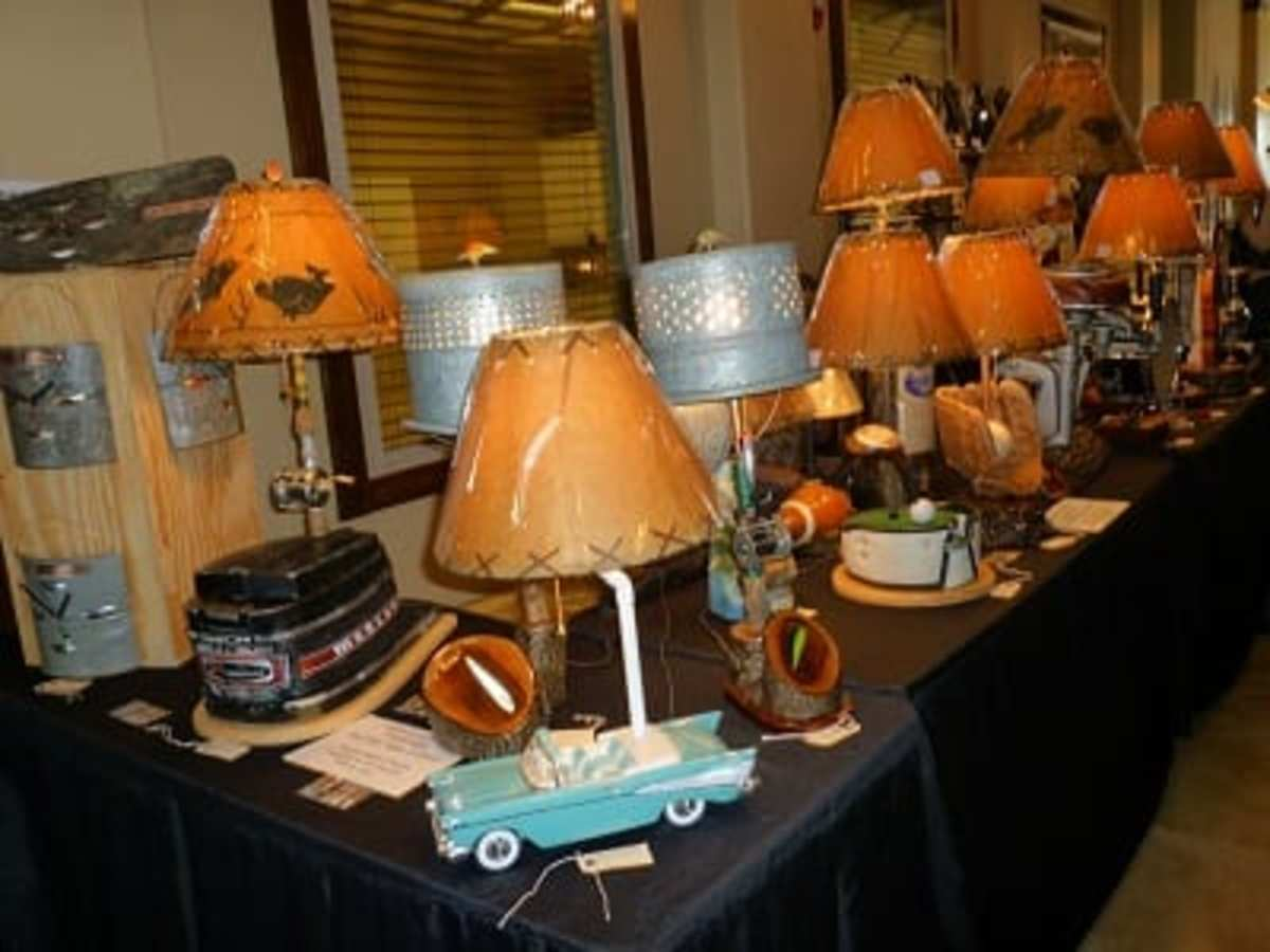 Vendor booths inside The Lodge during car show