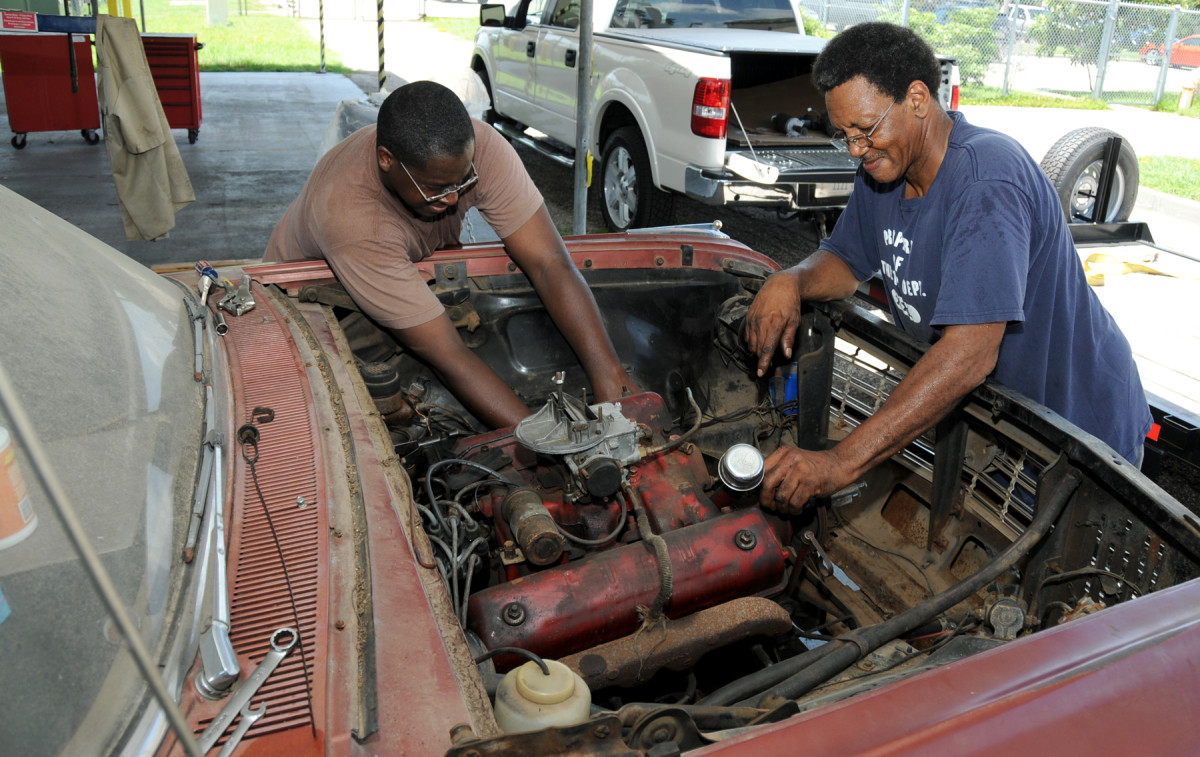 Check common sources of engine stalling issues at idle.