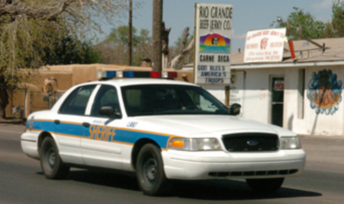 A BCSO unit featuring the PCDS-9 Lightbar.