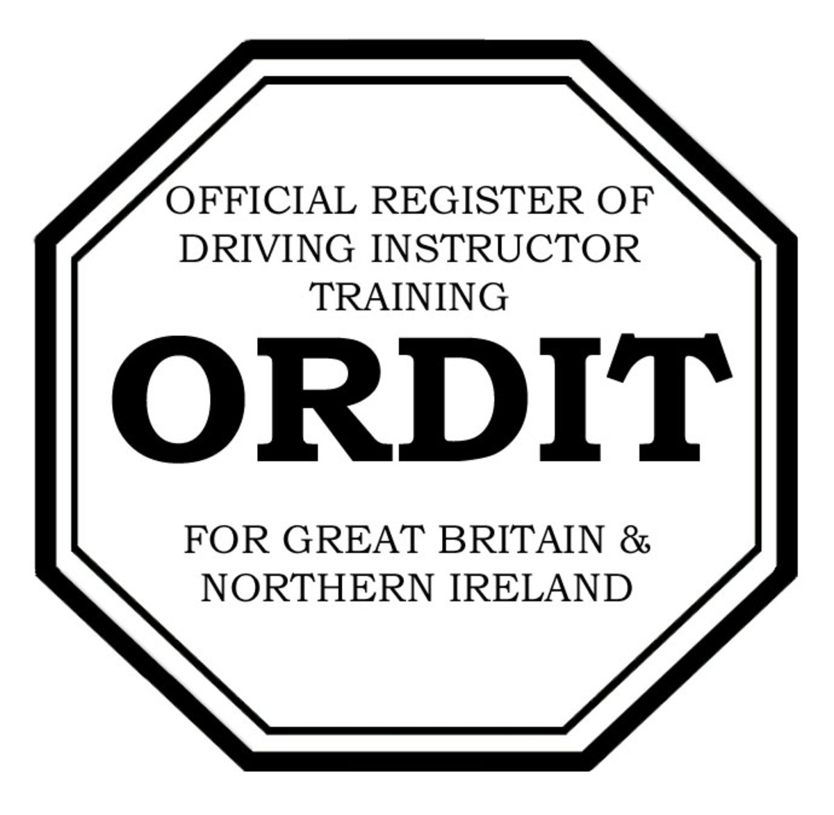 ORDIT stands for The Official Register of Driving Instructor Training