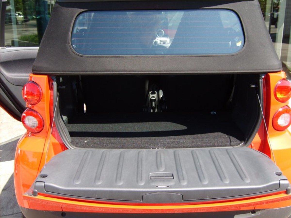 Smart Car Trunk Space