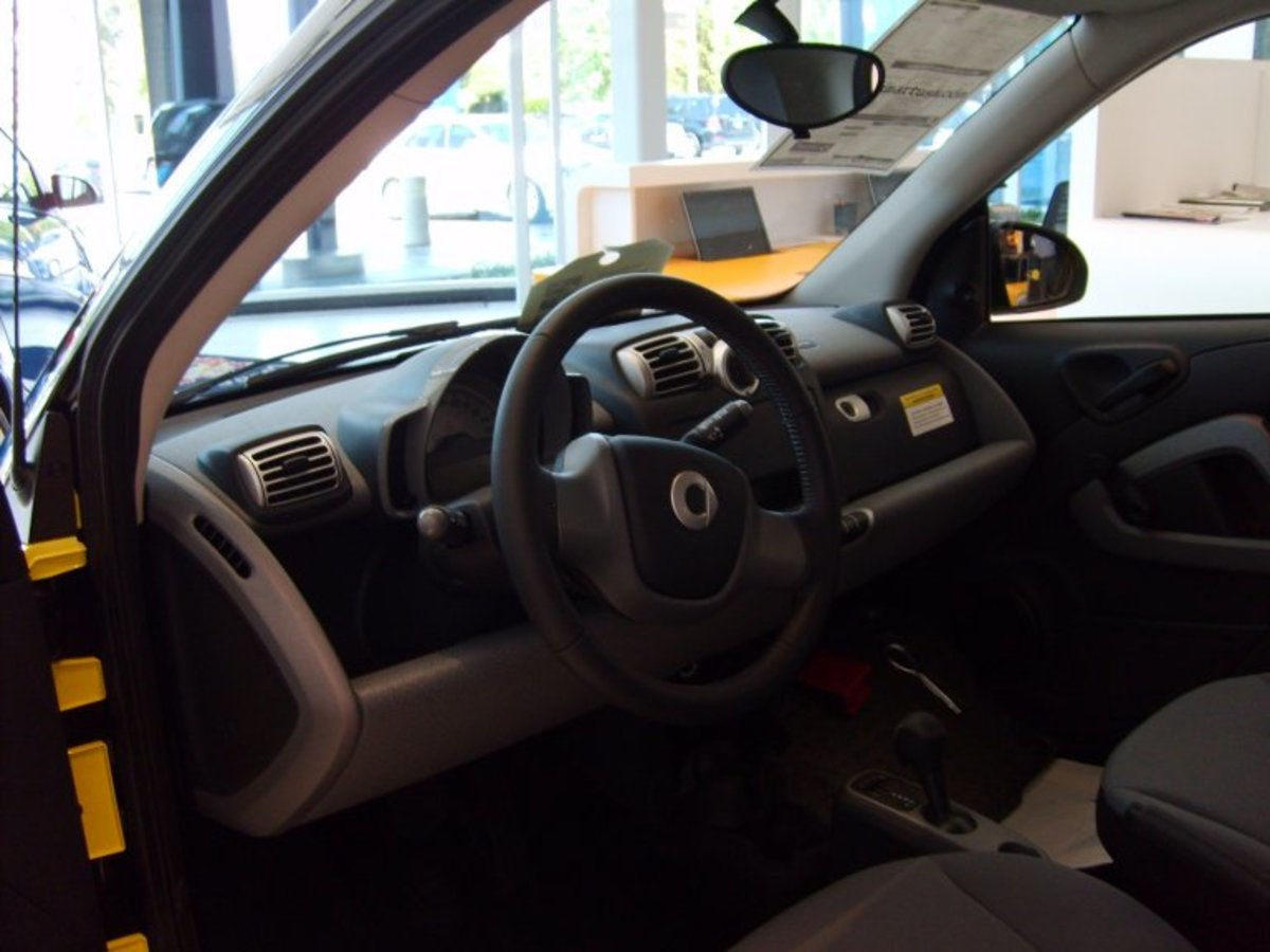 Smart Car Interior - Driver's Side
