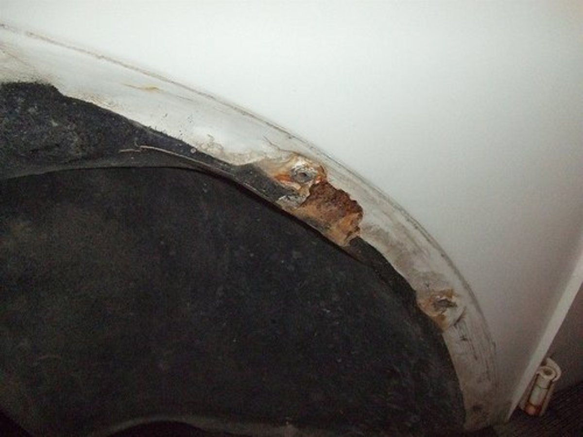 Fender Mounting Area Rot