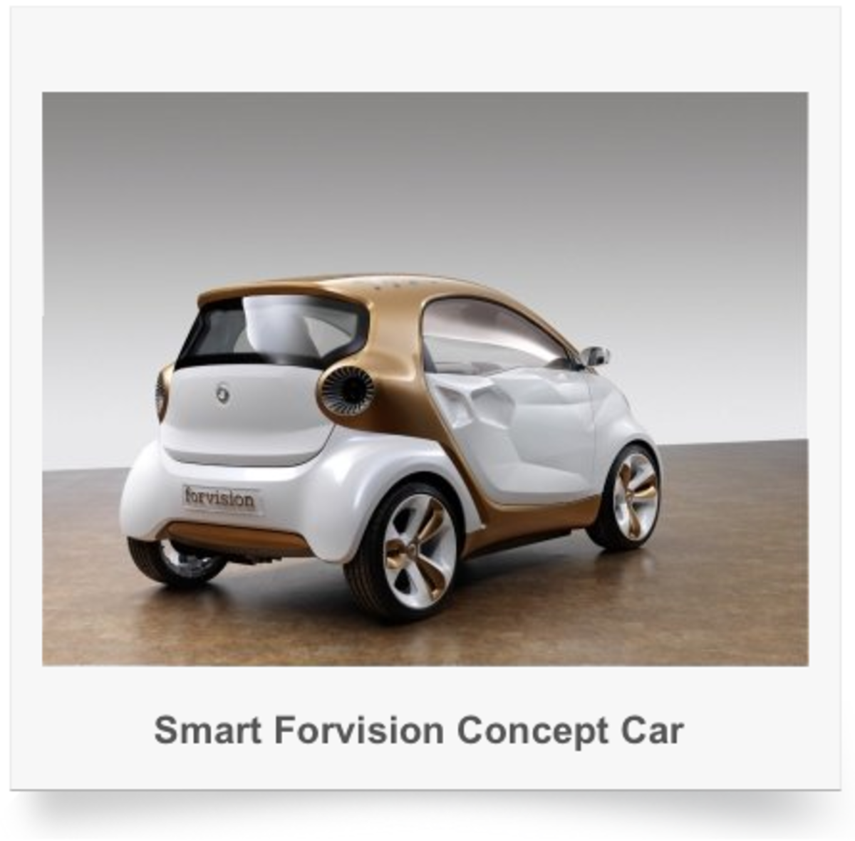 Wicked Smart Car concept art print - one of four unique angles