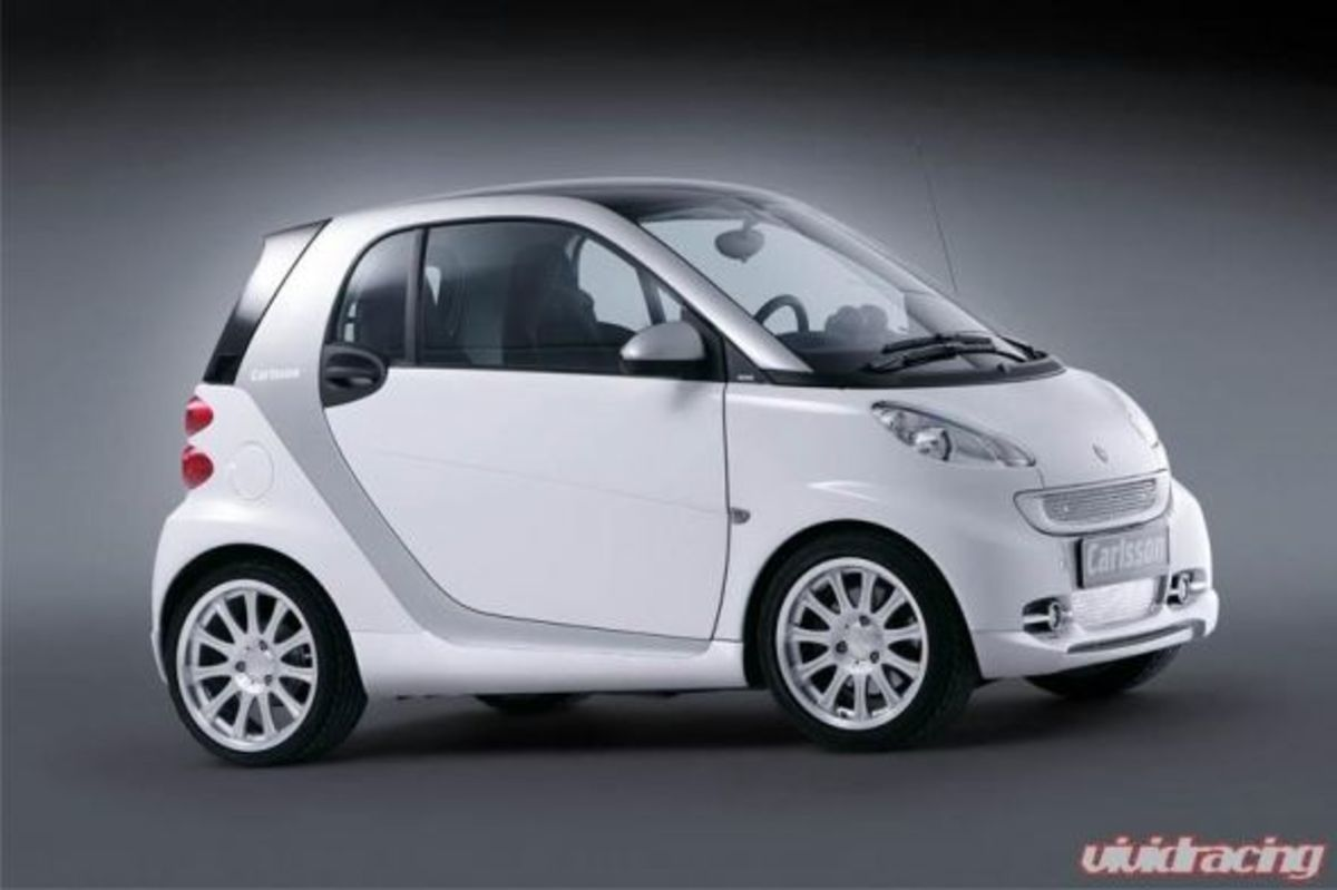 Smart Car with Body Kit from Carlsson