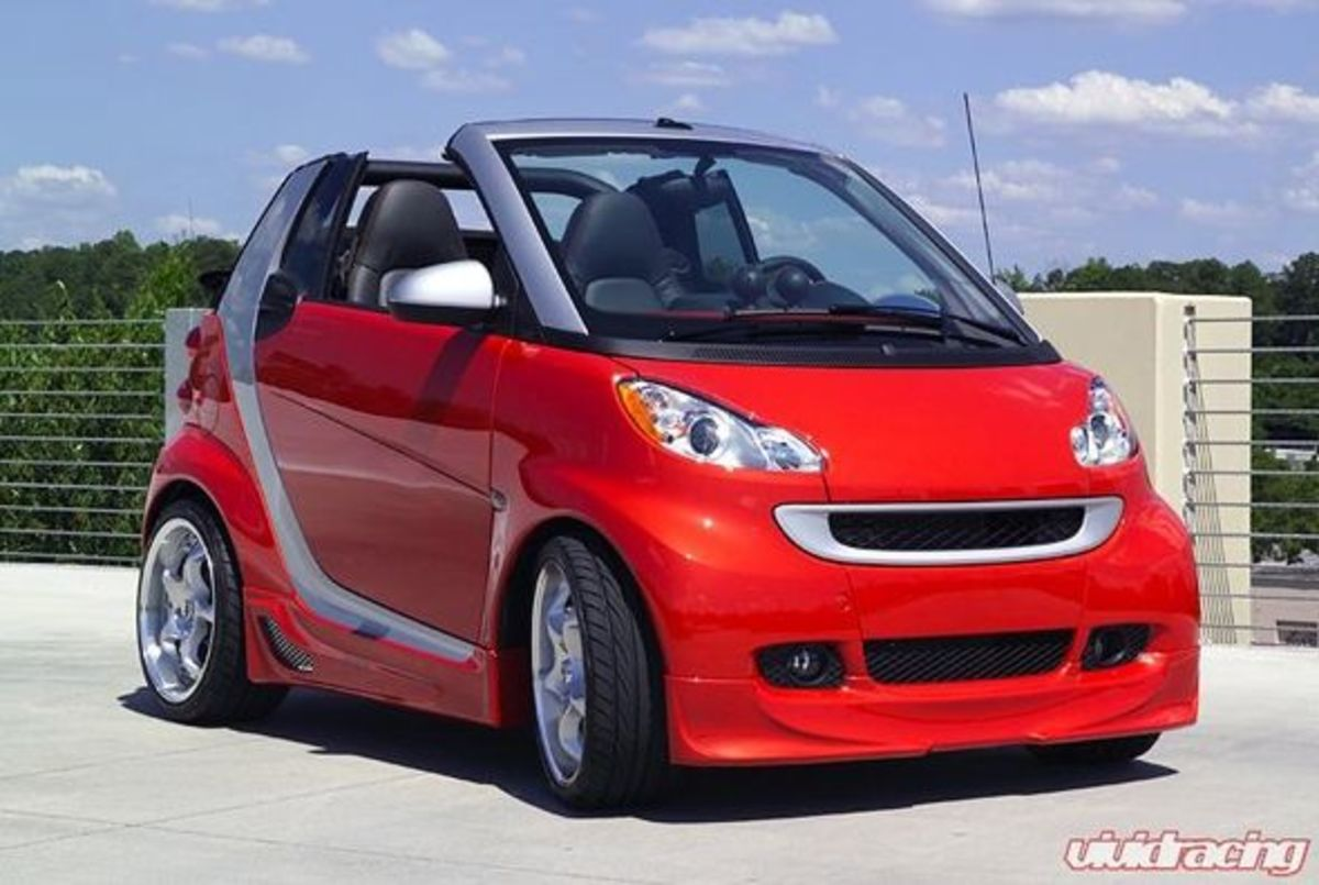 smart car body kits wicked kuhl body kits and mods hubpages. Black Bedroom Furniture Sets. Home Design Ideas