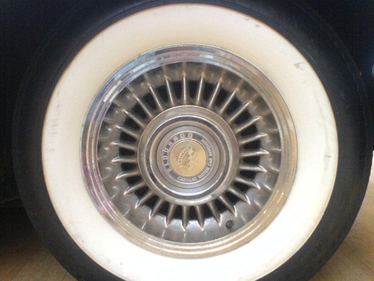 Close-Up Cadillac Tire (Photo courtesy by Nick Venables from Flickr)