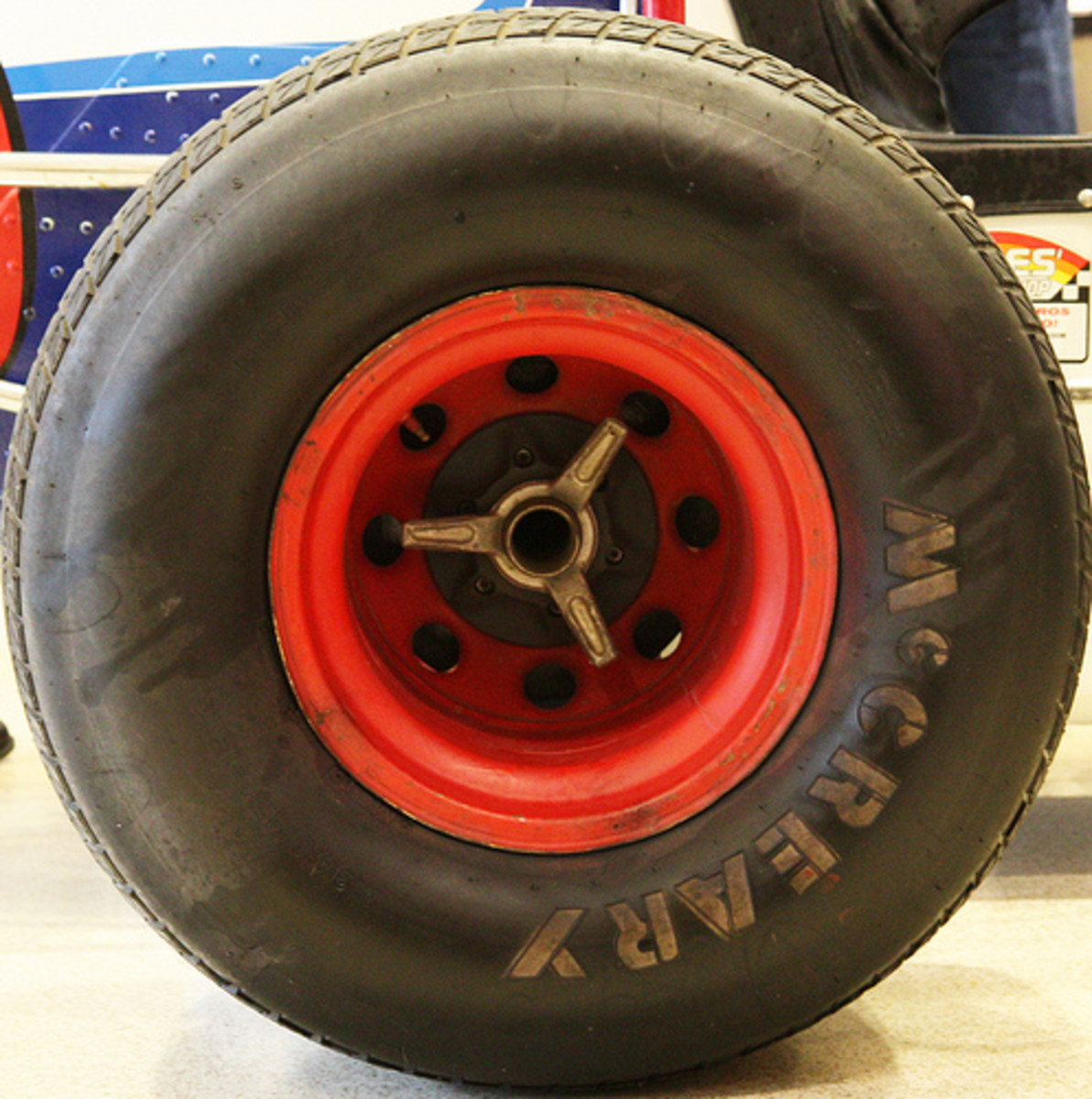 Sprint Car Tire (Photo courtesy by J from Flickr)