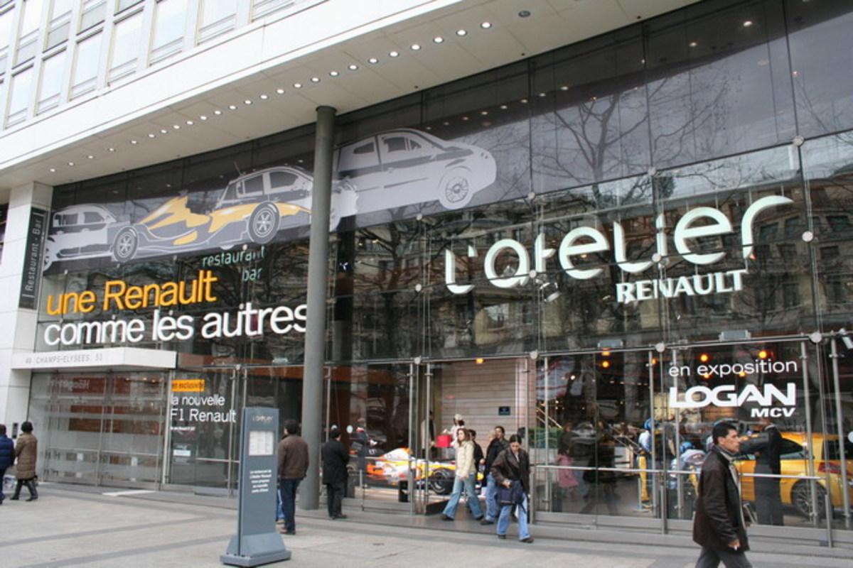 Atelier Renault, Champs Elyses (Paris)