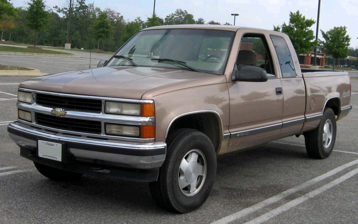 If you're looking for a half-ton truck, the Chevrolet K1500 (or GMC equivalent) is a great option.
