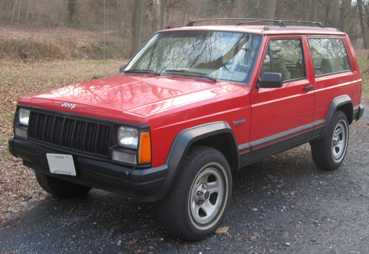 Jeep Cherokee XJs have solid axles and good coil springs.