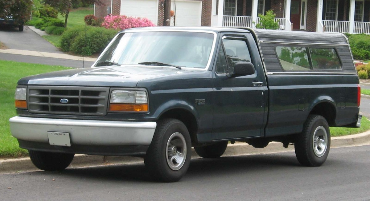 Ford F-150s are have been popular for so long that it's relatively easy to find replacement parts at salvage yards.