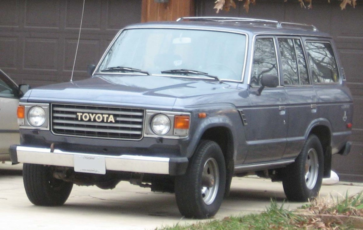 What Toyota Land cruiser FJ60s lack in gas mileage, they make up for in durability.