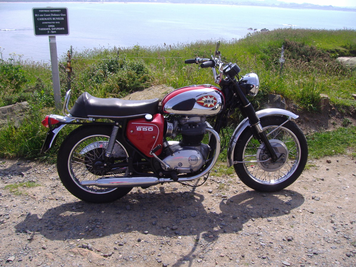 BSA Lightning  Photo Courtesy of Stavros1
