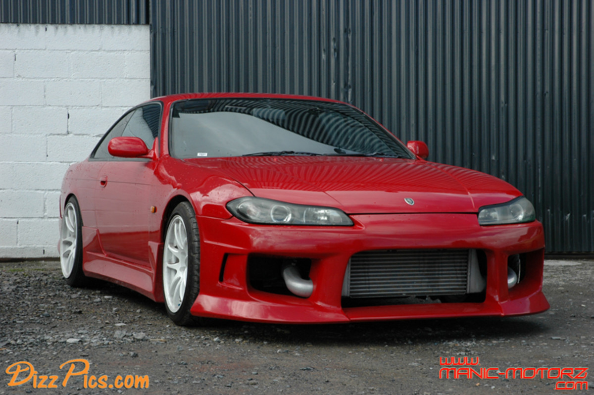 S14.5 - Nissan Silvia/240sx with an S15 face.