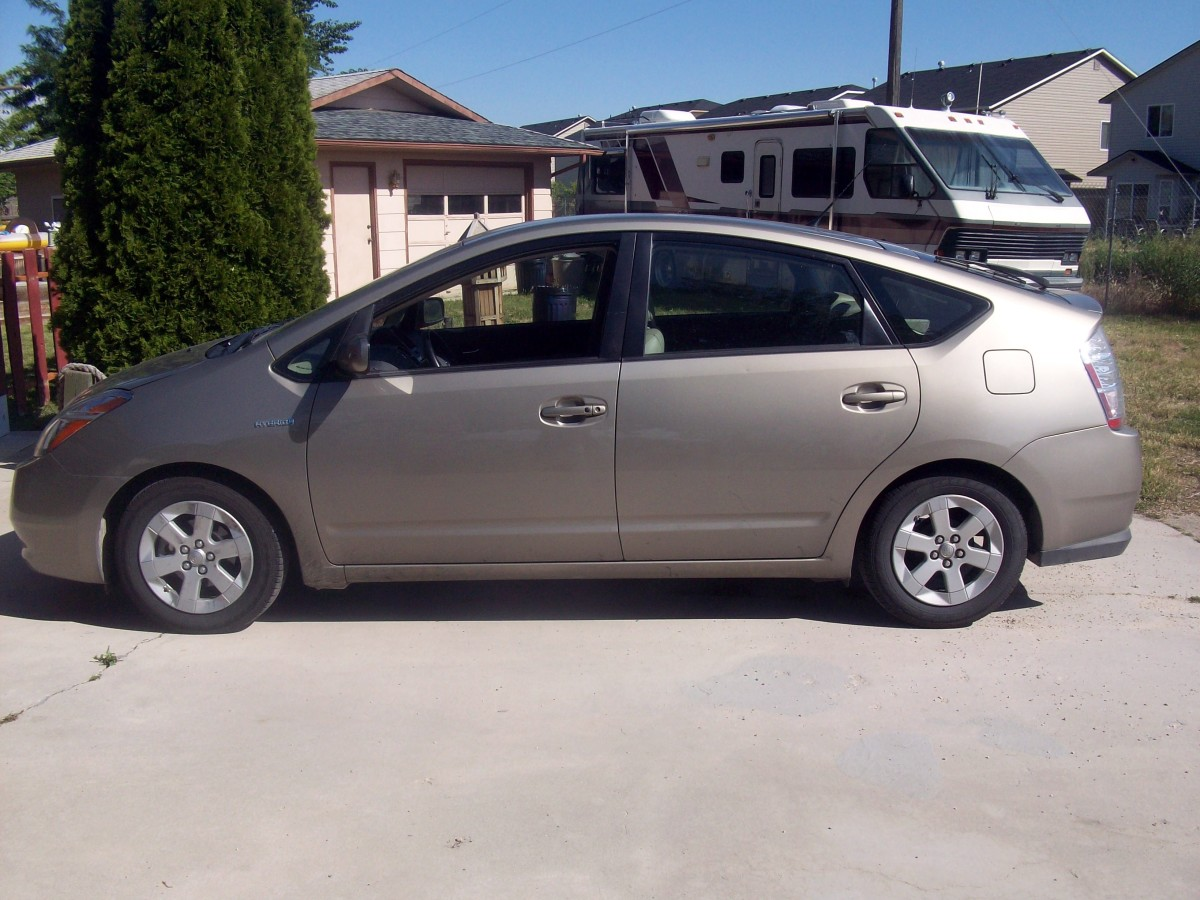 """Sandy"", our Prius"