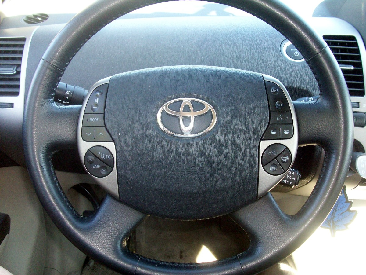 Steering wheel controls.  Climate control, audio, MFD, GPS, telephone and defroster