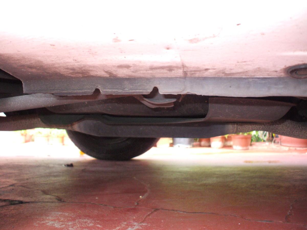 jack spot under car