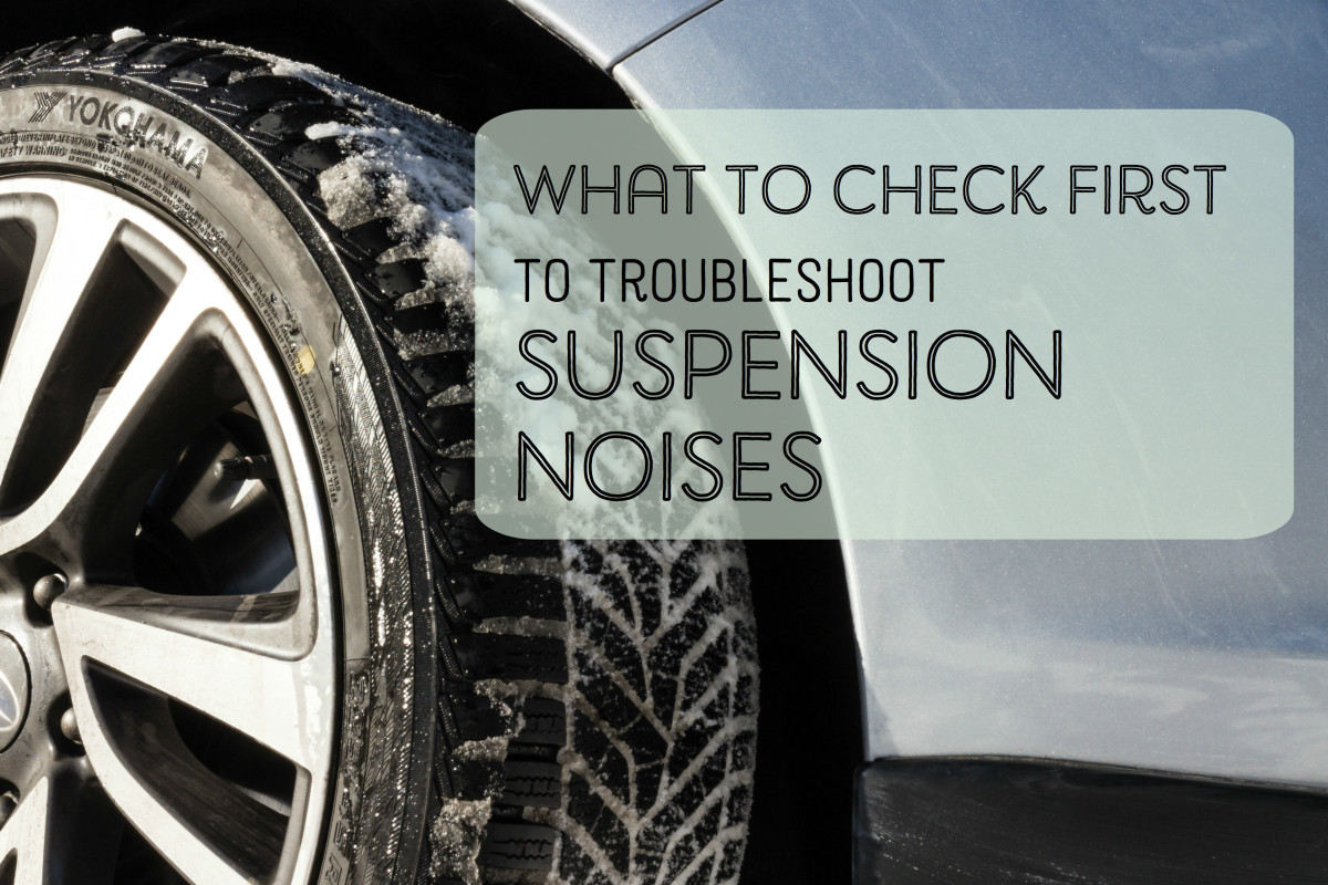 Do a visual check around your wheels. Have you driven over something that's caught in the suspension?