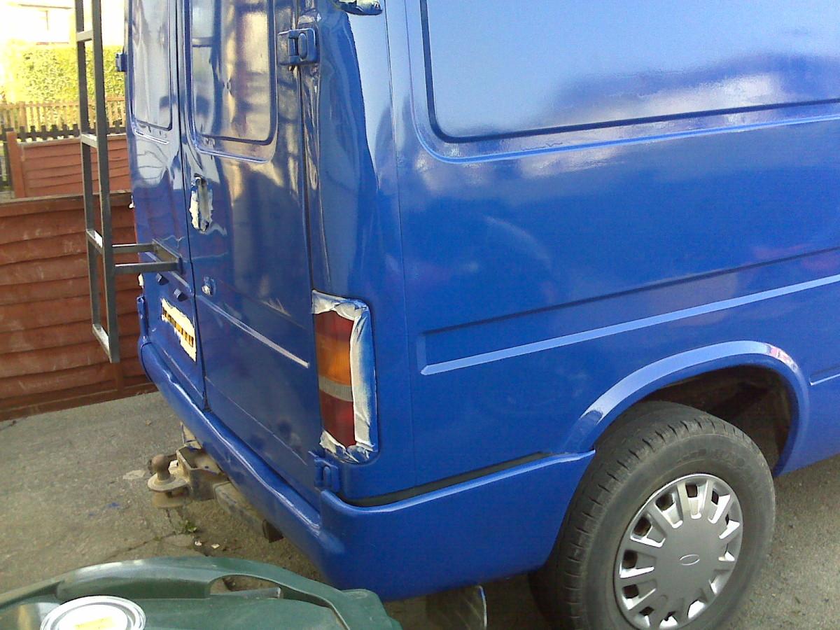 Roller Painting Your Van | AxleAddict