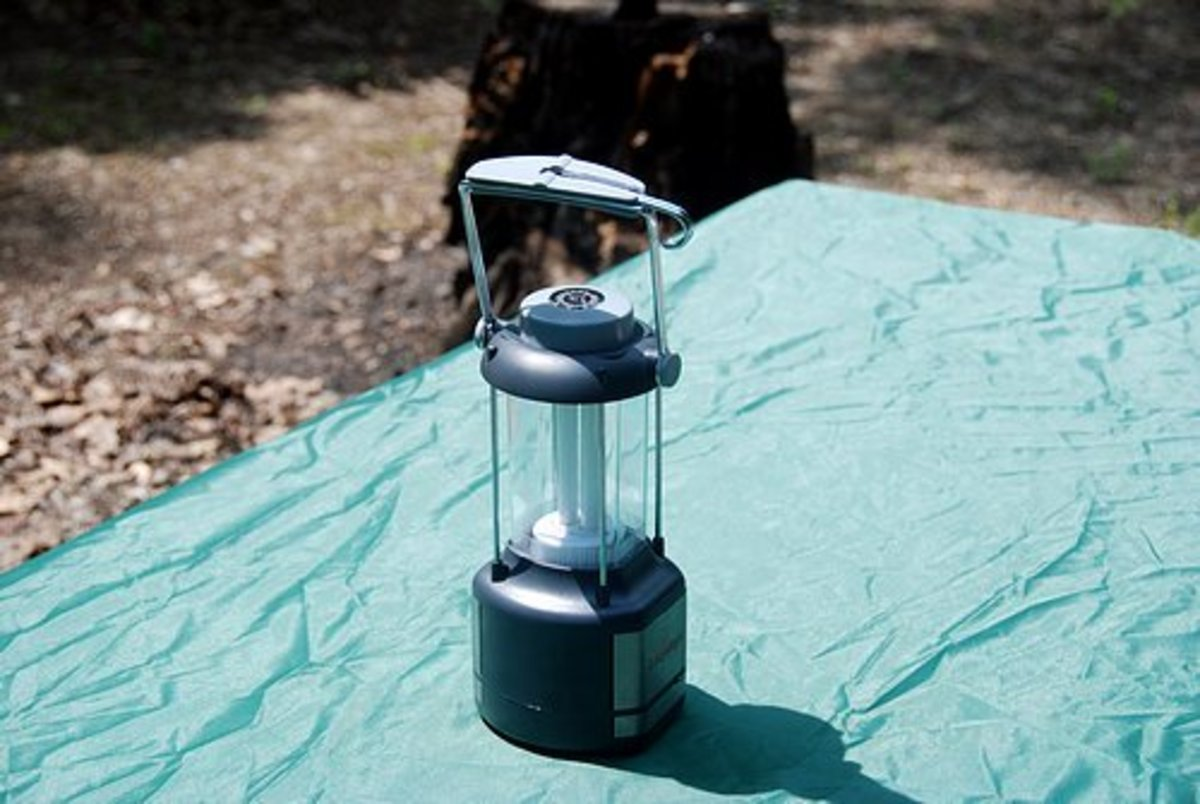 Lanterns are a camping must-have.