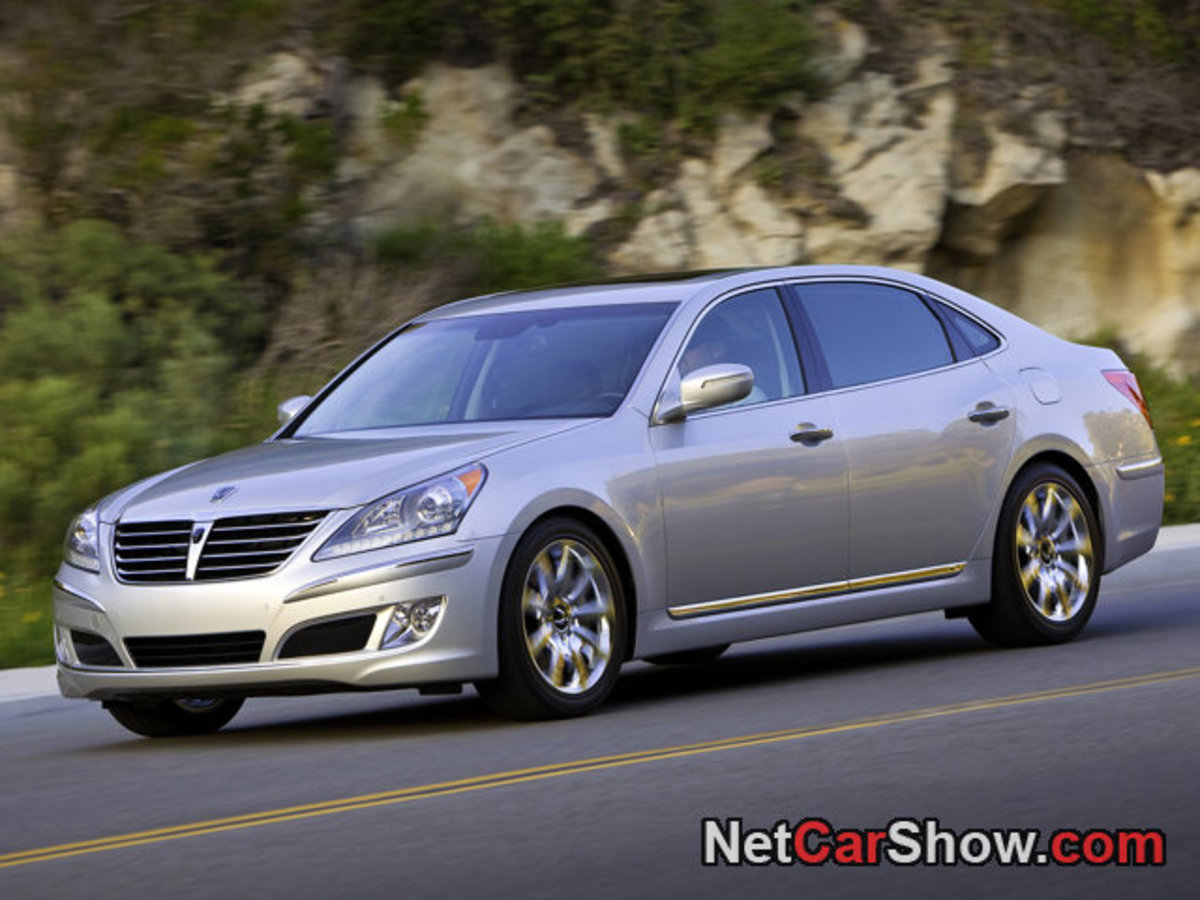 Hyundai Equus, a Korean Lexus, but is it a Hyundai?