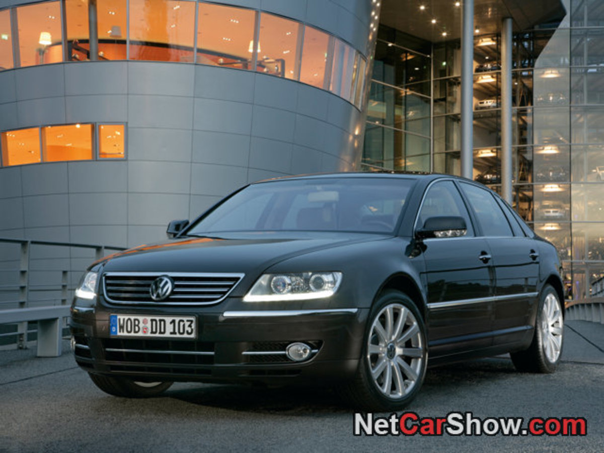 Volkswagen Phaeton, a Bentley with a Volkswagen badge