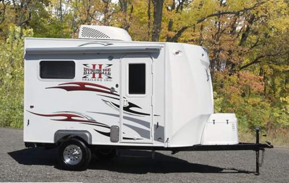 Ultra lite camper/cargo trailers