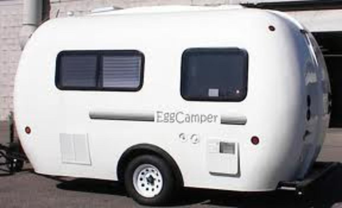 The Egg camper