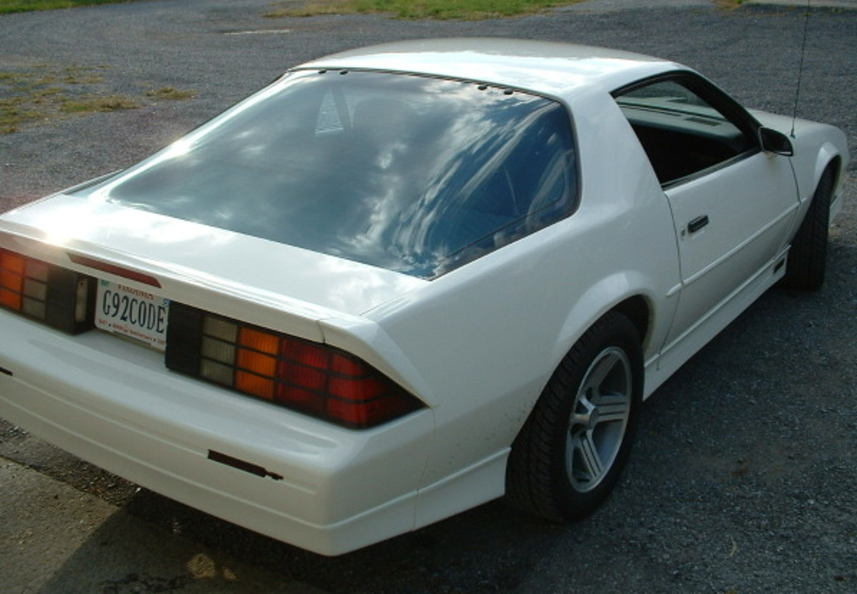 "A rare optioned 1990 ""G92code"" Tuned Port IROC-Z Camaro with the DX3 (decal & stripe delete) code, and also the GU5 code (3.42 gears) and N10 (performance exhaust) and a few other goodies..."