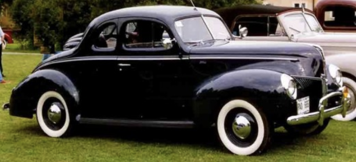 The 1940 Ford Coupe.