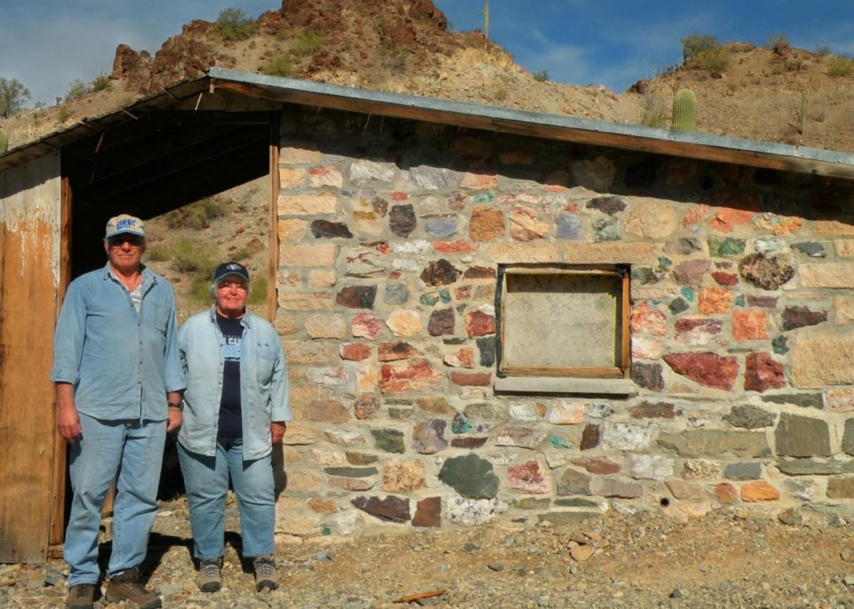 Abandoned miner's camp