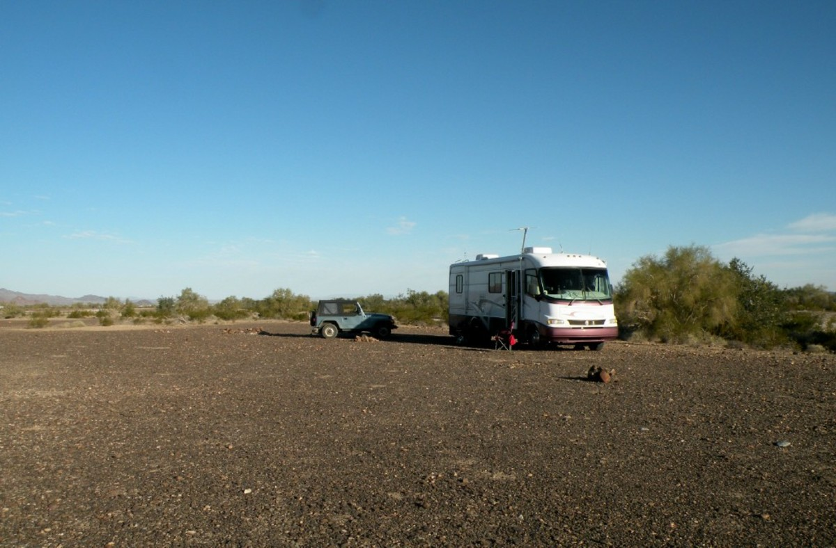Camping at LaPosa LTVA.