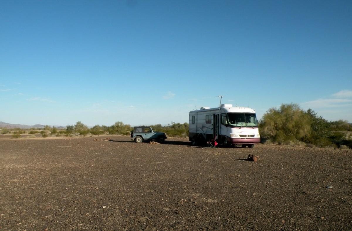 Camping at LaPosa LTVA.