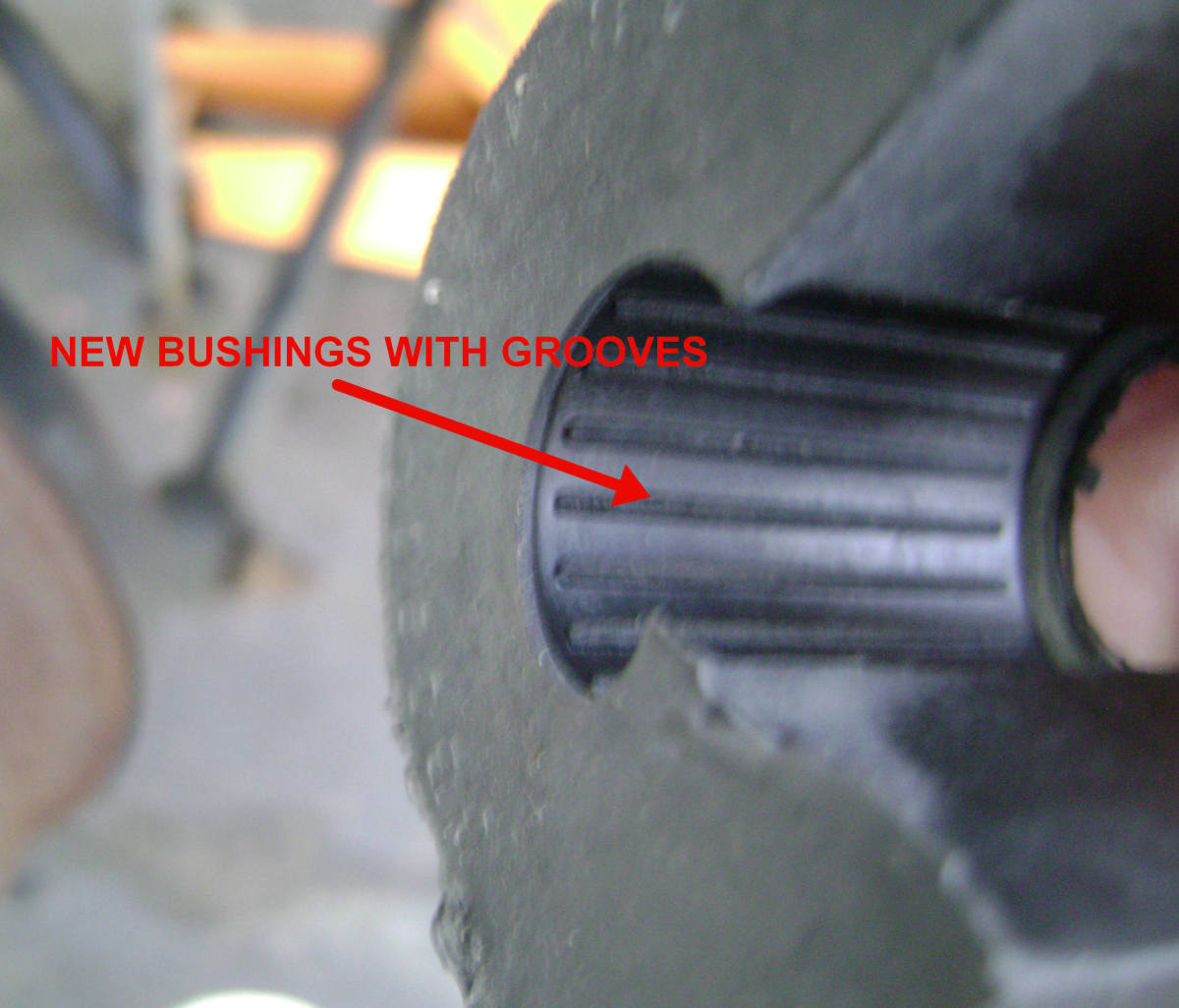 Wheel Bearing Noise >> 90 - 01 Toyota Camry Rear End Noise - Sway / Stabilizer Bar Bushing Replacement